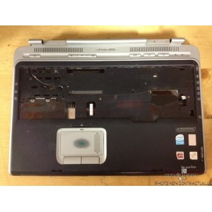 Plasturgie Base touchpad coque power bouton HP Pavilion ZD8000