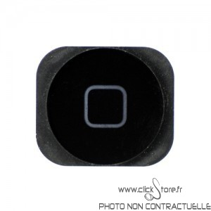 Bouton Home Noire Iphone 5