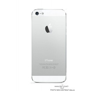 Chassis arrière blanc iPhone 5