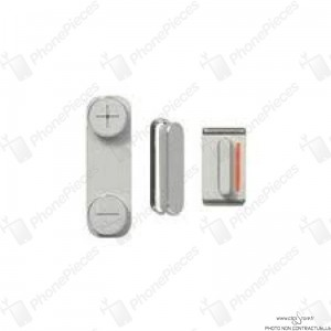 Pack bouton Blanc iPhone5