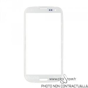 Vitre blanche Galaxy S3 i9300/i9305