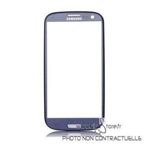 Vitre bleu Galaxy S3 i9300/i9305
