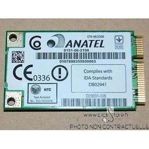 Carte wifi Anatel WM3945ABG MOW2