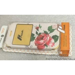 Housse Portefeuille Fleur Samsung Galaxy Grand