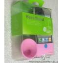 Bumper Amplificateur Son Rose Iphone 4 / 4S
