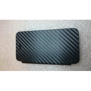 Coque flip cover Iphone 4S Noire