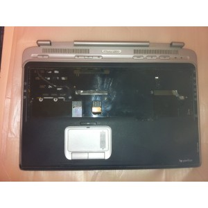 Plasturgie Base touchpad coque power bouton HP Pavilion ZD 8000