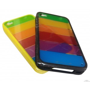 Coque Rigide Multicouleurs Iphone 4 / 4S
