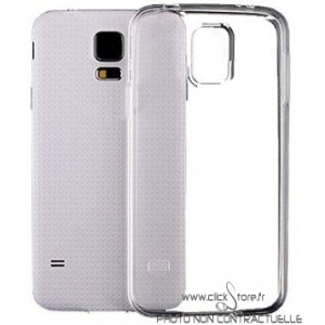 Coque Silicone Transparent Samsung Galaxy S5