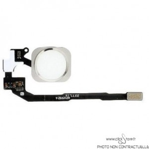 Bouton home Iphone 5S Blanc