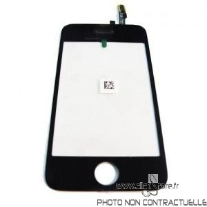 Vitre tactile Iphone 3G Noir