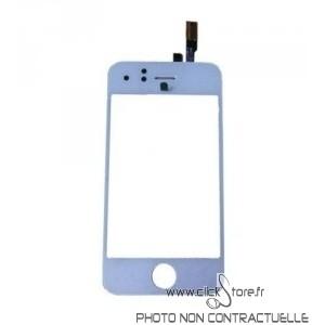 Vitre tactile blanche pour Iphone 3G