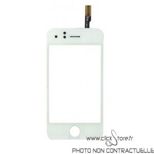 Vitre tactile blanche pour IPhone 3GS
