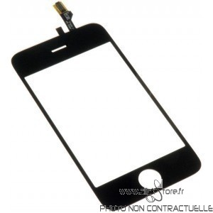 Vitre tactile Iphone 3GS Noir