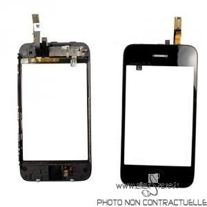 Chassis intermidiaire pour Iphone 3GS Noir