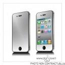Protecteur écran effet mirroir iphone 4 et 4S